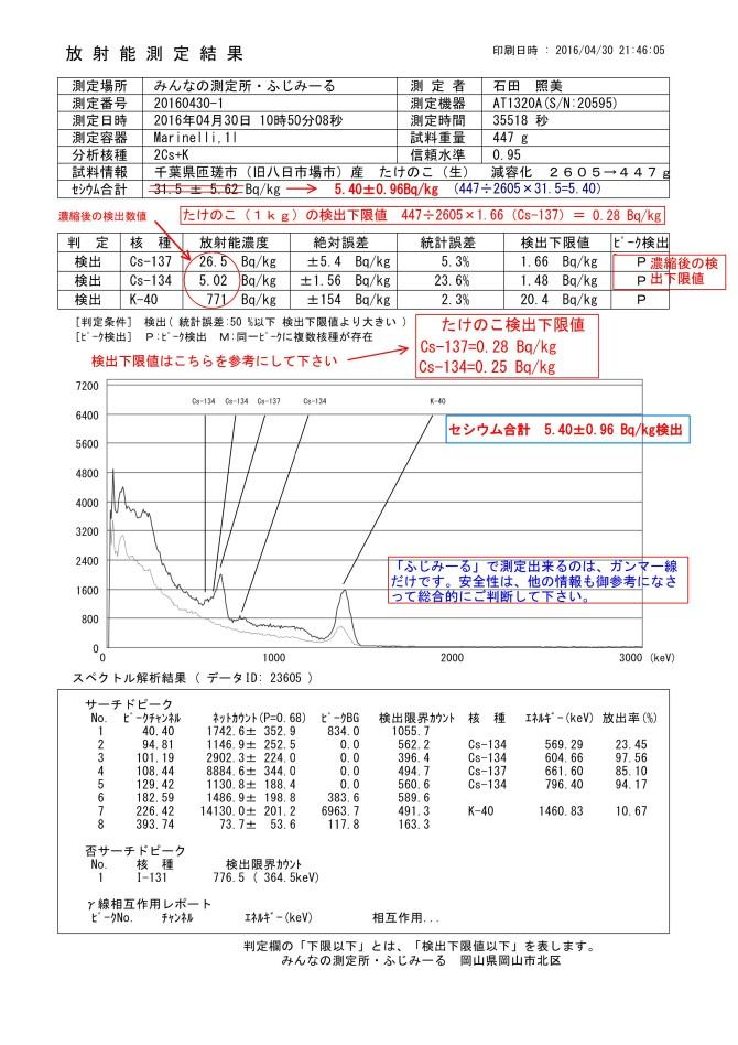 23605-1  千葉県匝瑳市(旧八日市場市)産 たけのこ(生) 減容化 2605→447g.JPG